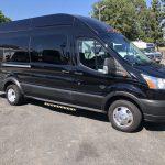 Ford Transit 350 HD XLT  8 passenger charter shuttle coach bus for sale - Gas 1