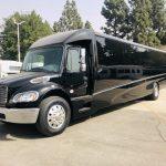 Freightliner M2 38 passenger charter shuttle coach bus for sale - Diesel 7