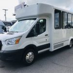 Ford Transit 350 HD 12 passenger charter shuttle coach bus for sale - Gas 10