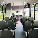 Ford Transit 350 HD 12 passenger charter shuttle coach bus for sale - Gas 13