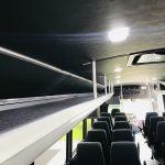 Freightliner S2C 37 passenger charter shuttle coach bus for sale - Diesel 14
