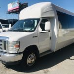 Ford E450 24 passenger charter shuttle coach bus for sale - Gas 9