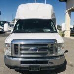 Ford E450 24 passenger charter shuttle coach bus for sale - Gas 10