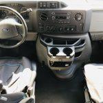 Ford E450 24 passenger charter shuttle coach bus for sale - Gas 16