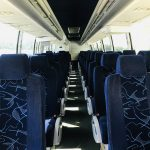 Volvo charter shuttle coach bus for sale - Diesel 8