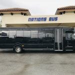 Freightliner M2 33 passenger charter shuttle coach bus for sale - Gas 2