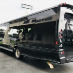 Freightliner M2 33 passenger charter shuttle coach bus for sale - Gas 7