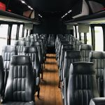 Freightliner M2 33 passenger charter shuttle coach bus for sale - Gas 12