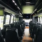 Freightliner M2 33 passenger charter shuttle coach bus for sale - Gas 13
