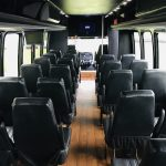 Freightliner M2 33 passenger charter shuttle coach bus for sale - Gas 15