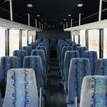 Freightliner S2C 37 passenger charter shuttle coach bus for sale - Diesel 11