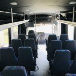 Freightliner S2C 37 passenger charter shuttle coach bus for sale - Diesel 15