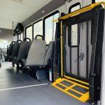 Ford E450 16 passenger charter shuttle coach bus for sale - Gas 14