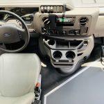 Ford E450 16 passenger charter shuttle coach bus for sale - Gas 16