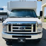 Ford E450 16 passenger charter shuttle coach bus for sale - Gas 9