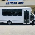 Ford Transit 350 HD 14 passenger charter shuttle coach bus for sale - Gas 2