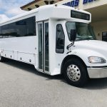 Freightliner 37 passenger charter shuttle coach bus for sale - Diesel 1