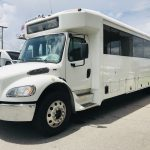 Freightliner 37 passenger charter shuttle coach bus for sale - Diesel 9