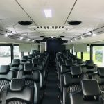 Freightliner 37 passenger charter shuttle coach bus for sale - Diesel 12