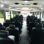 Freightliner 37 passenger charter shuttle coach bus for sale - Diesel 17