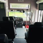 Freightliner charter shuttle coach bus for sale - Diesel 19
