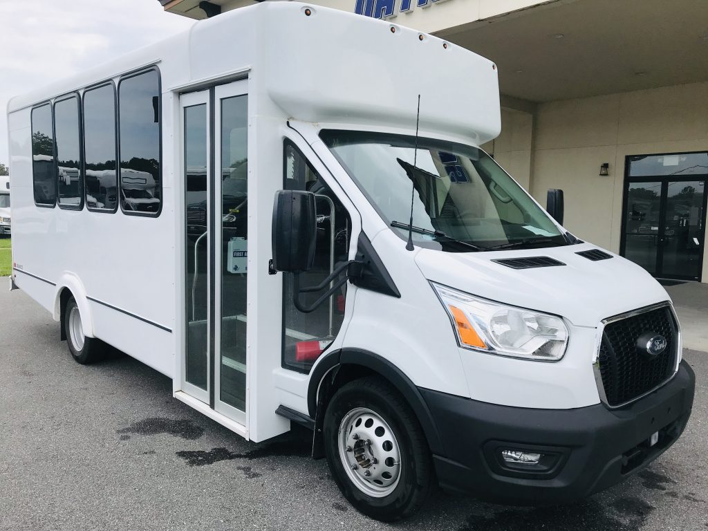 Ford 14 passenger charter shuttle coach bus for sale - Gas