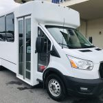 Ford 14 passenger charter shuttle coach bus for sale - Gas 1