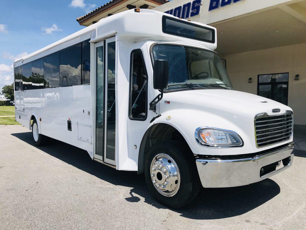 Freightliner 24 passenger charter shuttle coach bus for sale - Diesel