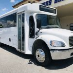 Freightliner 24 passenger charter shuttle coach bus for sale - Diesel 1