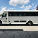 Freightliner 24 passenger charter shuttle coach bus for sale - Diesel 9