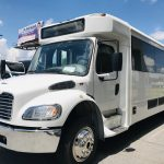 Freightliner 24 passenger charter shuttle coach bus for sale - Diesel 10