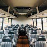 Dodge Ram 5500 28 passenger charter shuttle coach bus for sale - Diesel 8