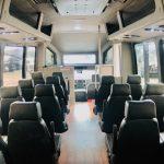 Dodge Ram 5500 28 passenger charter shuttle coach bus for sale - Diesel 9