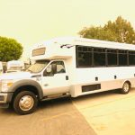 Ford F550 Super Duty 29 passenger charter shuttle coach bus for sale - Diesel 3