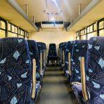 Ford F550 Super Duty 29 passenger charter shuttle coach bus for sale - Diesel 7