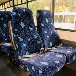 Ford F550 Super Duty 29 passenger charter shuttle coach bus for sale - Diesel 8