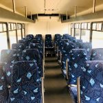 Ford F550 Super Duty 29 passenger charter shuttle coach bus for sale - Diesel 9