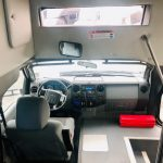 Ford F550 Super Duty 29 passenger charter shuttle coach bus for sale - Diesel 6