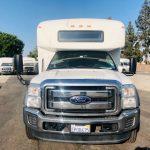 Ford F550 Super Duty 29 passenger charter shuttle coach bus for sale - Diesel 2