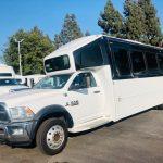 Dodge Ram 5500 28 passenger charter shuttle coach bus for sale - Diesel 4
