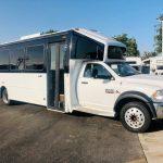 Dodge Ram 5500 28 passenger charter shuttle coach bus for sale - Diesel 1