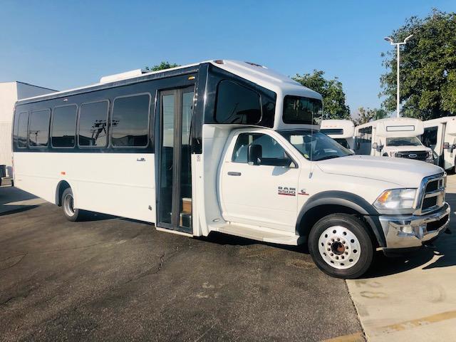 Dodge Ram 5500 28 passenger charter shuttle coach bus for sale - Diesel