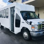 E450 28 passenger charter shuttle coach bus for sale - Gas 1