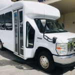 E350 12 passenger charter shuttle coach bus for sale - Gas 1