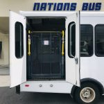 E350 12 passenger charter shuttle coach bus for sale - Gas 3