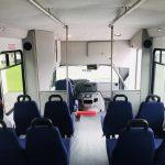 E350 12 passenger charter shuttle coach bus for sale - Gas 18