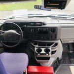 E350 12 passenger charter shuttle coach bus for sale - Gas 19