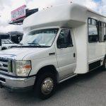 E350 13 passenger charter shuttle coach bus for sale - Gas 10
