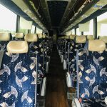 MCI 56 passenger charter shuttle coach bus for sale - Diesel 13