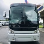 MCI 56 passenger charter shuttle coach bus for sale - Diesel 12